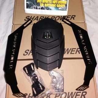 Shark Power Mudguard Double Bracket With Plate Holder For Gixxer Rouser Cbr Nmax Aerox Yamaha Fz Sz