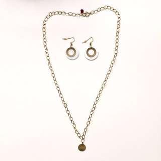 14k Gold Filled Necklace/Earring Gift Set