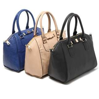 Instock Mango Ribbon Sling Bag with 3 Colours