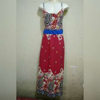 Red chill dress