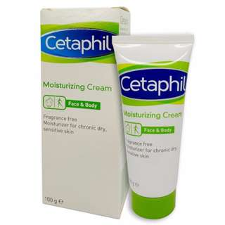 Cetaphil moisturizing cream.