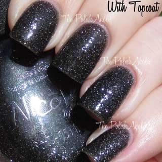 OPI Nicole Series Black Nail Polish