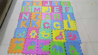 Baby Play Mat (alphabet and animal)