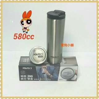 【雲飛小鋪】PERFECT 理想 極緻316真空/雙蓋/咖啡杯580cc