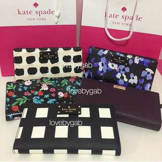AUTHENTIC KATE SPADE WALLETS