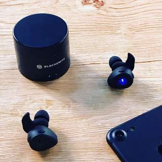 (Promo) BLACKSMITZ A-6 SERIES TRUE WIRELESS BLUETOOTH STEREO HEADPHONE EARPHONE HEADSET EARPIECE EARBUD (Authentic) (Self-Collection) (Postage)