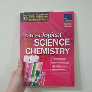 O-Level Topical SCIENCE (Chemistry) TYS