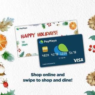 Pay Maya Cards