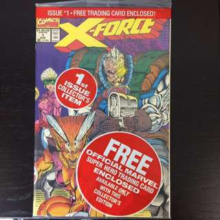 X-Force #1 polybagged comic