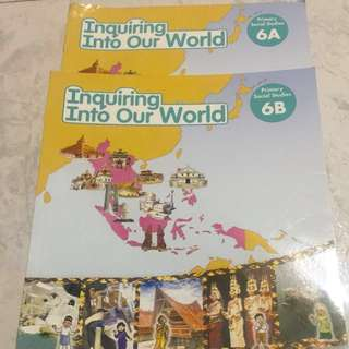Primary 6 social studies book 6A and 6B