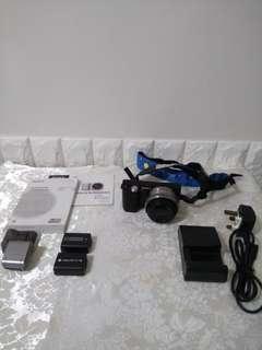 SONY NEX5相機套裝9成新, 即買即用