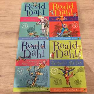 (Secondhand) Roald Dahl Children's Book Bundle