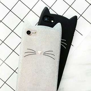 Rubber Case Cat for iPhone