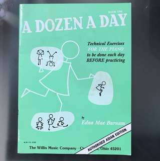 FREE POSTAGE A Dozen A Day Book One