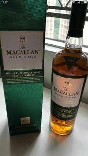 麥卡倫S e l e c t O a k威士忌1公升連盒。