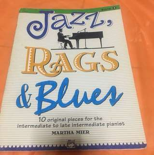 Jazz, rag and blues by Martha Mier