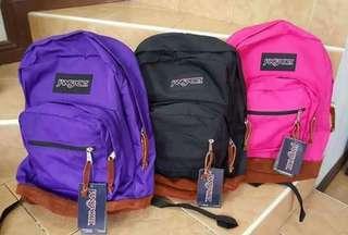 Authentic Jansport Bags
