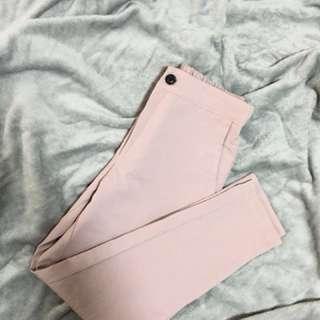 粉藕色 西裝褲