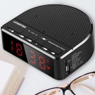 Bluetooth Speaker + Alarm Clock + FM radio valentine