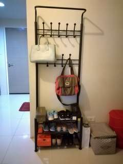 Clothes, Bags and Shoes Rack