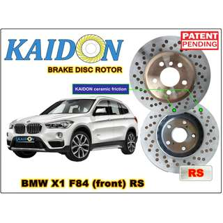 "BMW X1 F84 disc rotor KAIDON (front) type ""RS"" spec"