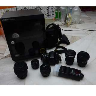 Tokina + Tamron + Sigma + Nikon + Canon LENSES