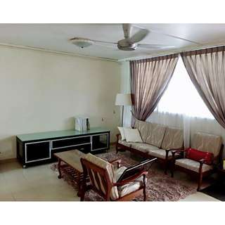 Hougang (near mrt) 3 bedrooms flat for rent (furnished with quality appliances)