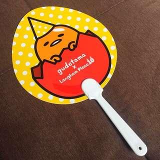 【包郵】梳乎蛋「懶人扇」Gudetama Handheld Manual Fan
