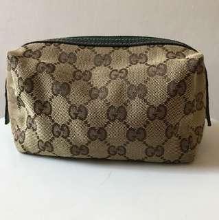💯% real Gucci make up bag 化妝袋