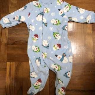 Carter's 聖誕 bb 夾衣 連身