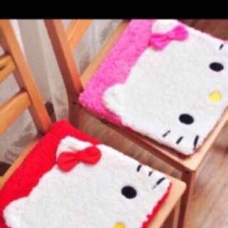 Hello kitty chair mat