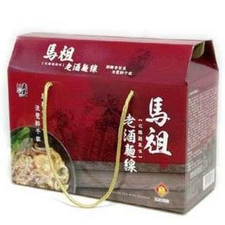 五木馬祖老酒麵線禮盒-花雕雞風味