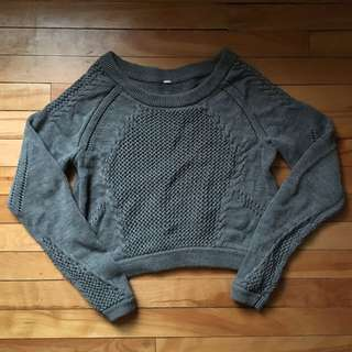 Lululemon Cropped Sweater