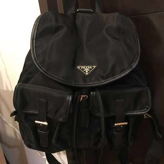 Prada Woman Backpack