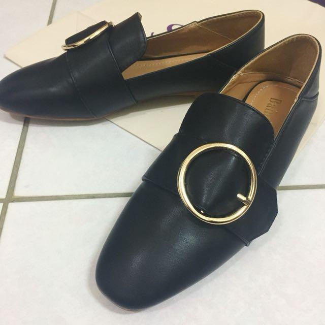 兩穿平底鞋.拖鞋(24)