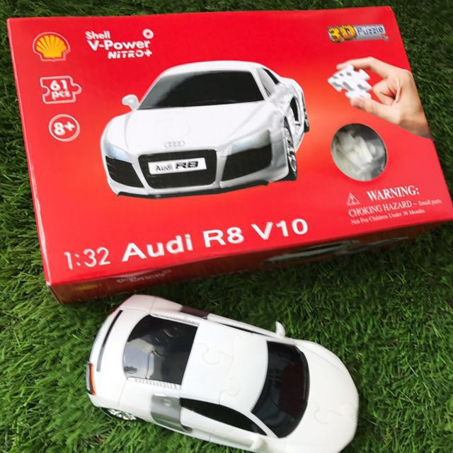 D Puzzle Audi R V Car Toys Games Others On Carousell - Audi car 3d games