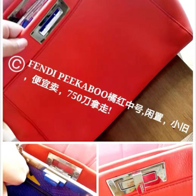 $750 only fendi peekaboo medium size