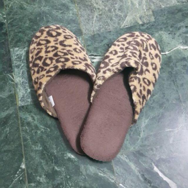 豹紋室內拖鞋✨