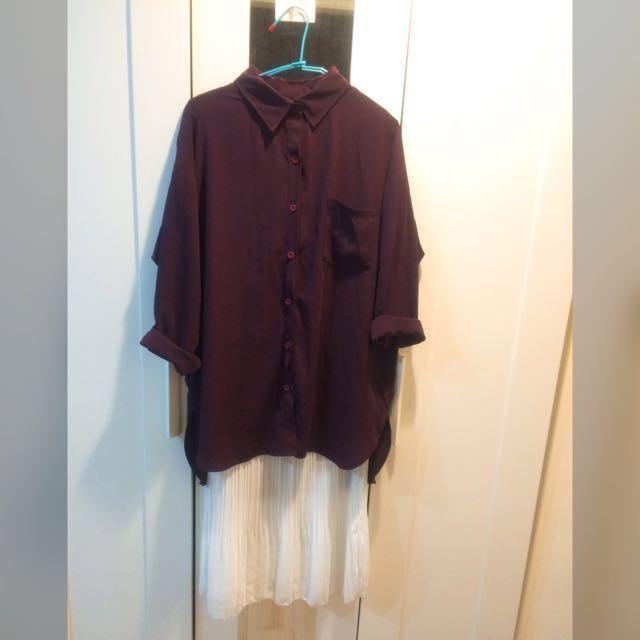 正韓-兩件式洋裝