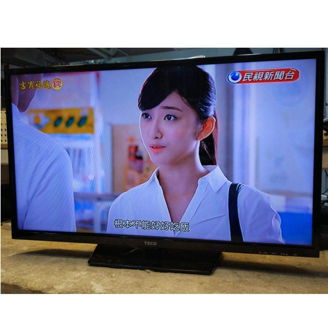 東元 32吋LED 低藍光液晶電視 TL3237TRE 製造日期:2015年 【宏竣液晶】