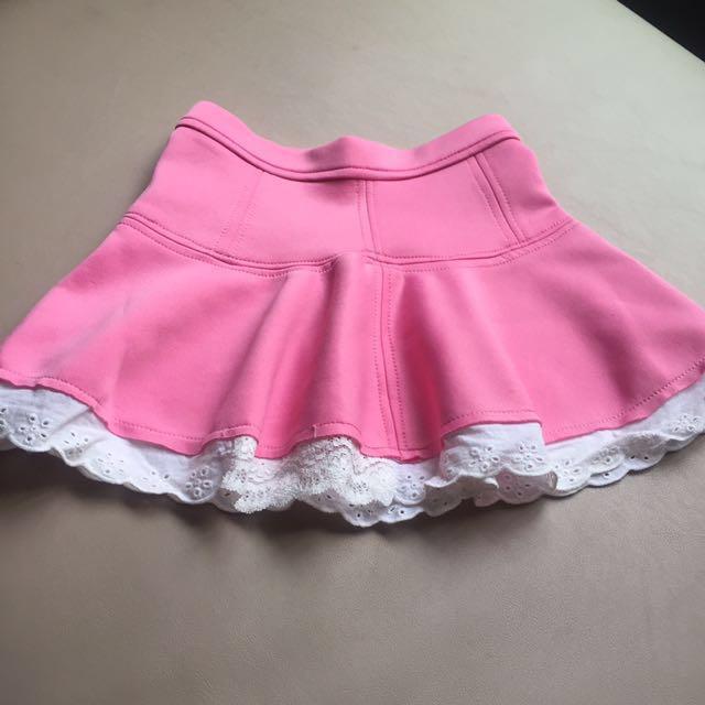 女童裙 粉