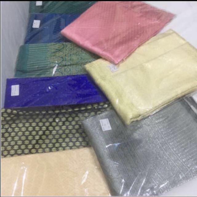 💯 Thai Silk Songket textiles