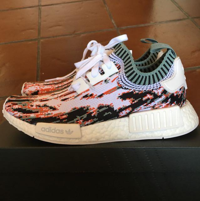 Adidas nmd r1 datamosh gucci, la moda maschile, le calzature per carousell