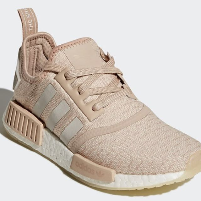 2444d2a9040be Adidas Originals NMD R1 (Women) - Chalk Pearl Ash Pearl White ...