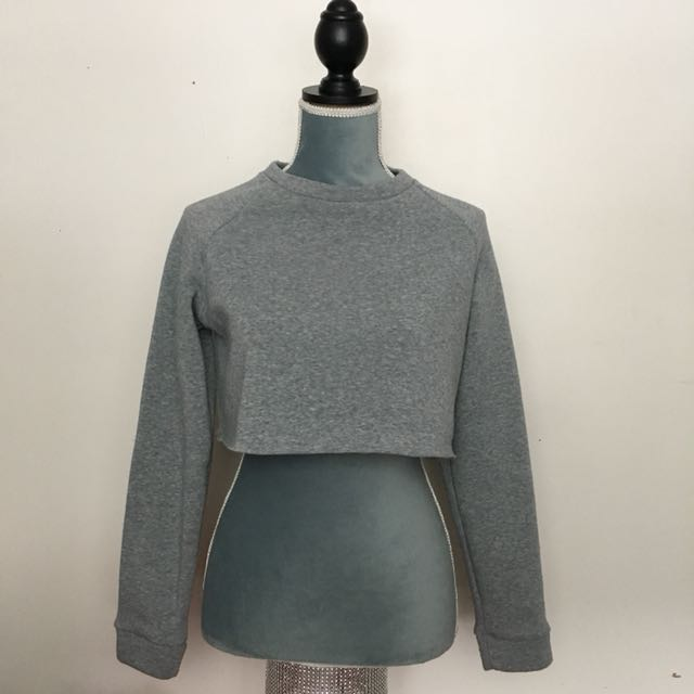 Arden's Cropped Crewneck Size S