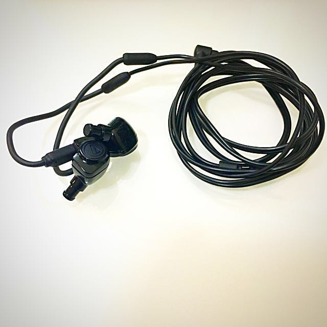 [鐵三角]ATH-IM50 可換線雙單體監聽耳機