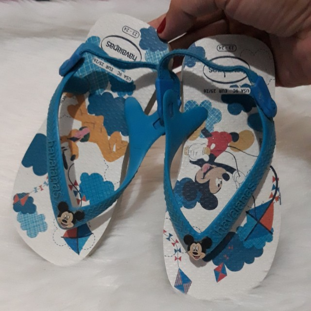 Auth Havainas Toddler Slippers