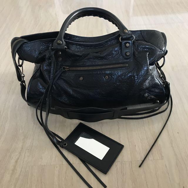 ce10103b596 Authentic Balenciaga City Bag (Black), Women's Fashion, Bags ...