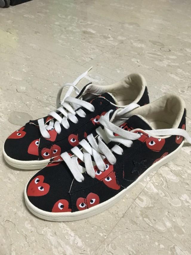 f6cd1dd1815968 Authentic Comme Des Garcons converse play shoes