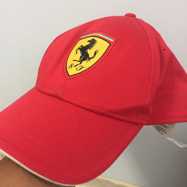 698bb4d6 Authentic Ferrari Cap, Sports, Sports Apparel on Carousell